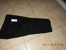 Rockmans size 16 Black stretch zip fly denim NWOT long shorts