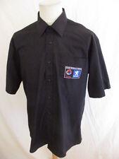 Rare chemise PEUGEOT SPORT TOTAL Noir Taille L