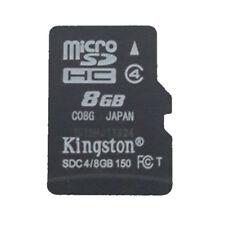 8GB Kingston MicroSD SDHC TF C10 Memory Card Memoria f Phone Tablet