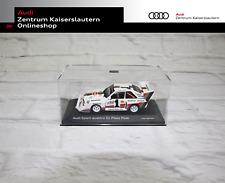 Audi Miniatur S1 Pikes Peak Maßstab 1:43 Alpinweiß Limitiert Walter Röhrl