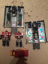 Transformers G1 Rodimus Prime Hot Rod, Optimus Prime Rig and Trailer Lot!