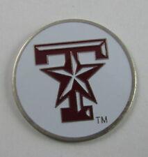 5 NCAA Collegiate Golf Ballmark Ballmarker Ball Mark Texas A&M Aggies White