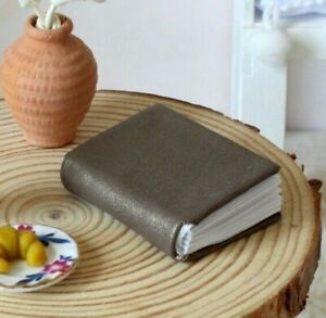 Miniature book dollhouse library 1:6 scal diary notebook bible BJD doll school