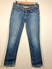 CITIZENS OF HUMANITY Womens Jeans Ava Low Waist Straight Leg Sz 27