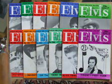 Elvis Monthly: 1980 Nos 240 to 251.   Complete run of 12 issues.