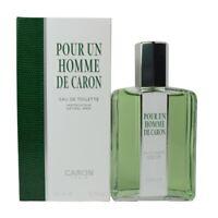 Pour Un Homme de Caron for men 125/200ml EDT, Paris, Profumo Uomo fragranza arom