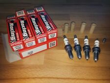 4x Honda VFR1200 X,XD,XDL,XL y2012-2015 = Brisk Performance Silver Spark Plugs