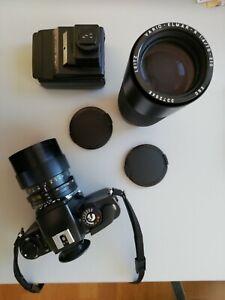 Leica R 5 mit 2 Objektiven; s, Beschreibung