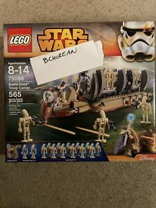 Lego 75086 Star Wars Battle Droid Troop Carrier New Retired Set 565 Pcs