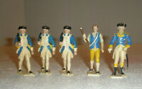 Vintage Revolutionary War Toy Soldiers Plastic Made in Germany