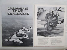 5/1972 PUB 24 PAGES GRUMMAN A-6E PRATT WHITNEY NORDEN FAIRCHILD CONRAC IBM AD