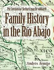 Family History in the Rio Abajo (Paperback or Softback)