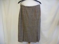 Unbranded Wool Blend Check Skirts for Women
