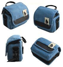Étuis, sacs et housses bleue pour appareil photo et caméscope Samsung