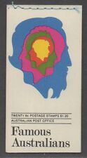 *Australia Sc# 454a-57a, Mnh Vf, Complete Booklet / Nice!