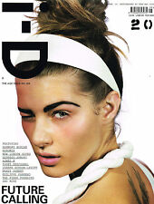 I-D #254 ISABELI FONTANA Zooey Deshanel JOSEPH GORDON-LEVITT Lily Donaldson @NEW