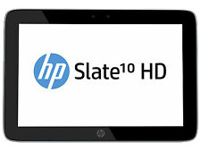 HP Slate 10 HD 16GB Wi-Fi 10 in Slate Silver Tablet Android 1200 Charger