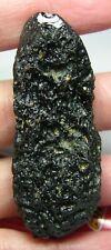 New listing #39 Vietnam 100% Natural 23.65g Rough Uncut Tektite Crystal Specimen 60mm 0.80oz