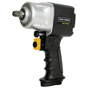 """Craftsman 951115 Pro Series 1/2"""" Air/Pneumatic Compact 800ft-lb Impact Wrench"""