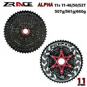 ZRACE 11 Speed Cassette MTB Alpha 11s Cassette freewheel 11-46T/50T/52T HG Hub