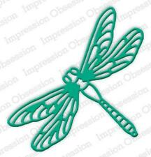 Large Dragonfly Steel Die for Scrapbooking (Die547L)
