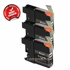 3pk LC103XL LC-103XL BK Ink For Brother DCP-J152W MFC-J245 MFC-J285DW MFC-J870DW