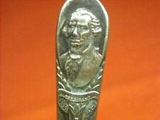 Wm Rogers Mfg Co George Washington Presidential Commemorative Silverplate Spoon