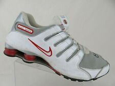 NIKE Shox NZ White/Red Sz 14 Men Running Shoes