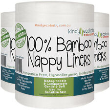 1400 Flushable Bamboo Nappy Liners /Inserts biodegradable,cloth diaper for baby