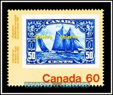 CANADA 1982 CANADIAN FAMOUS BLUE NOSE SHIP MINT FV FACE 60 CENT MNH RARE STAMP