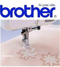 BROTHER GENUINE sewing machine foot CLEAR VIEW OPEN TOE PLASTIC F027N