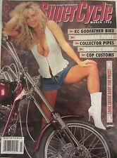 Supercycle Magazine March 1993 KC Godfather Bike Queensman Party Antique Swap