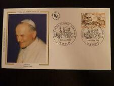 FRANCE PREMIER JOUR FDC YVERT 2418   PAPE JEAN PAUL II   1,80F  ANNECY  1986