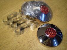 Schwinn Phantom Scripted Bicycle Red Reflector Chrome Hub Caps