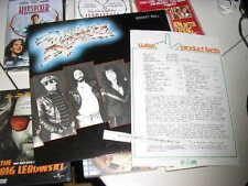 LP rock the Rockets-Rocket Roll Elektra + presskit