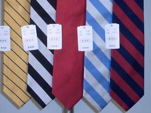 Best Lot of 5 PCS Silk Woven Neckties Tie Assorted Mens New NWT Super Deal