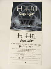 HIM Dark Light HeartAGram Logo Amp Bike Board Sticker