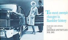 1965 Rambler Dealer Accessories Options Brochure - Ambassador Classic American