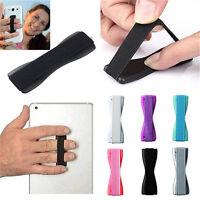 2X Finger Phone Holder Plastic Sling Grip Anti Slip Stand for Cell Smart Phon CO