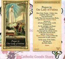 Prayer to Our Lady of Fatima - Glossy Paperstock  Holy Card