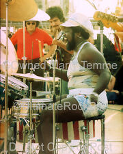 BUDDY MILES PHOTO MIKE BLOOMFIELD ELECTRIC FLAG 1974 Marty Temme Drums Hendrix
