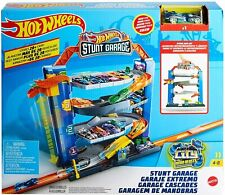 Hot Wheels City Stunt Garage Playset & Race Car GNL70 New Kids Xmas Toy Gift 4+