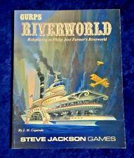 GURPS RPG Phillip José Farmer's Riverworld