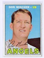 1967 Topps #312 Don Mincher California Angels Baseball Card