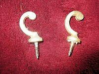 Par Antiguo Embrasses-Embrases para Cortinas/Tentures-Bronze Doré-art Decoración