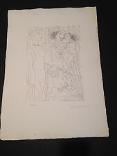 """Picasso """"Suite Vollard"""" Bloch #214, Limited Edition, Picasso Family Authorized."""