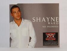 SHAYNE WARD, NO PROMISES, 709, EX/VG, 4 Track, CD Single, Picture Sleeve, SONY/B