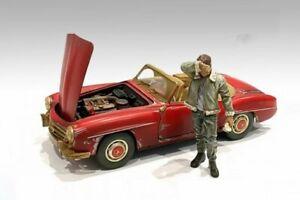 AUTO MECHANIC - SWEATING JOE 1/18 scale DIECAST ACCESSORY AMERICAN DIORAMA 76262