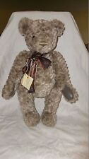 """Gund Limited Signature Collection 20"""" jointed Bear Quicksilver Signed/#  w/Tag"""