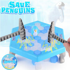 Small Penguin Trap Ice Breaker Game Penguin Block Toy Funny Children Gift